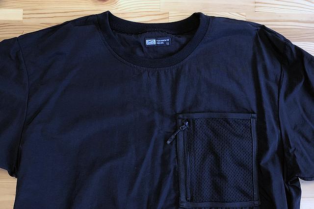 ワークマンの水陸両用撥水パッカブル半袖Tシャツ